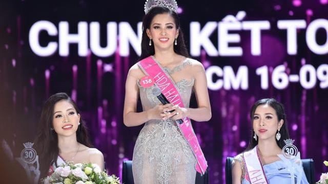 Tân Hoa hậu Việt Nam 2018 trả lời ngây ngô tại họp báo sau đêm chung kết
