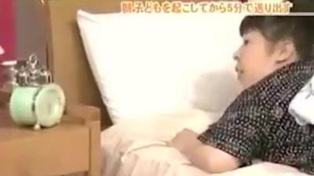 Chỉ cần 5 phút, bà mẹ Nhật đã chuẩn bị...