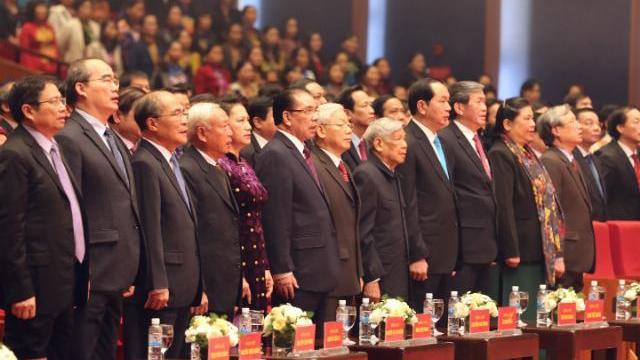 Lãnh đạo Đảng, Nhà nước dự lễ kỷ niệm 70 năm ngày toàn quốc kháng chiến