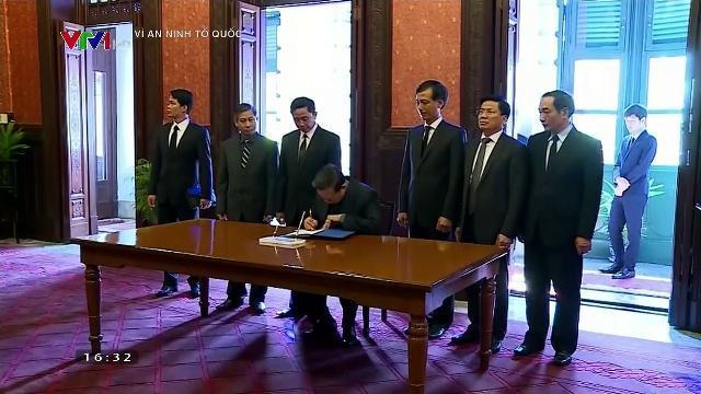 Bộ trưởng Tô Lâm tiếp tổng tư lệnh cảnh sát hoàng gia Thái Lan