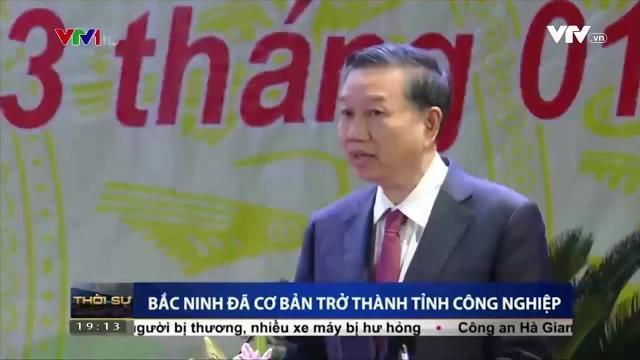 Bộ trưởng Tô Lâm thăm và làm việc tại Bắc Ninh