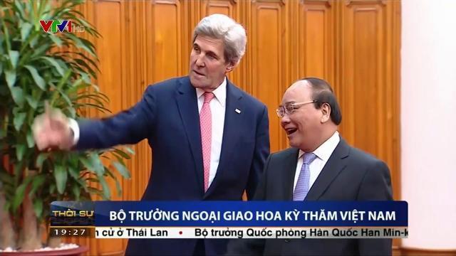 Thủ tướng Nguyễn Xuân Phúc tiếp Bộ trưởng ngoại giao Hoa Kỳ thăm Việt Nam