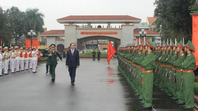 """Chủ tịch nước Trần Đại Quang: """"Chủ động ứng phó, không bị bất ngờ trong mọi tình huống"""""""