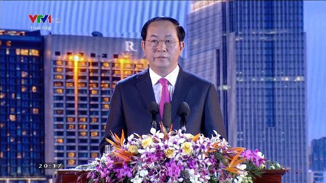Chủ tịch nước dự chương trình nghệ thuật Xuân Quê hương 2017