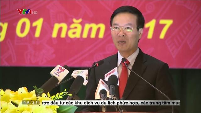 Ông Võ Văn Thường triển khai công tác báo chí năm 2017