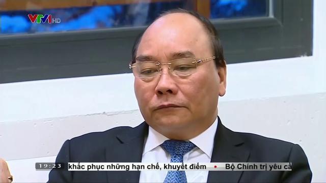 Thủ tướng Nguyễn Xuân Phúc tiếp Chủ tịch tập đoàn Prudential