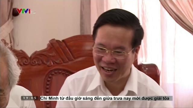 Ông Võ Văn Thưởng chúc Tết các cán bộ ở tỉnh Đồng Nai