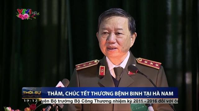 Bộ trưởng Tô Lâm thăm, chúc Tết thương bệnh binh tại Hà Nam