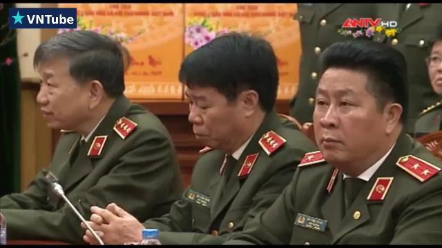 Chủ tịch nước kiểm tra công tác trực ban, trực chỉ huy lực lượng CAND