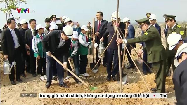 Chủ tịch nước Trần Đại Quang phát động Tết trồng cây