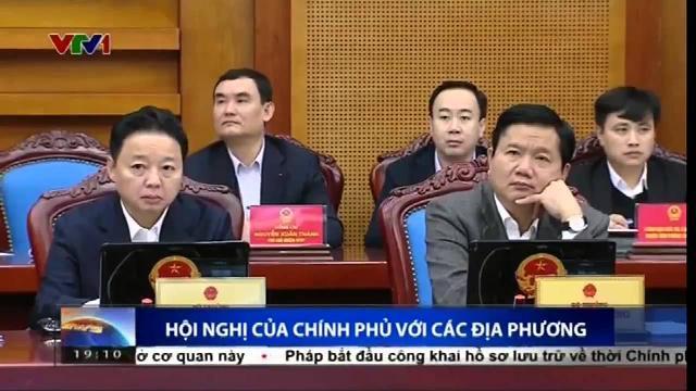 Hội nghị của Chính phủ với các địa phương