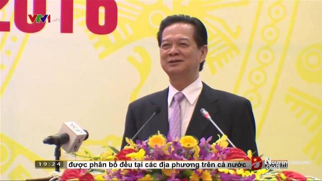 Thủ tướng Nguyễn Tấn Dũng triển khai nhiệm vụ 2016 cho Bộ giao thông vận tải