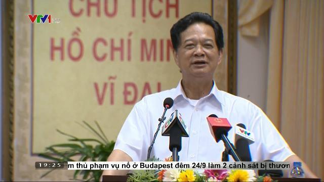 Nguyên Thủ tướng Nguyễn Tấn Dũng họp bàn về giải pháp quản lý tài nguyên nước