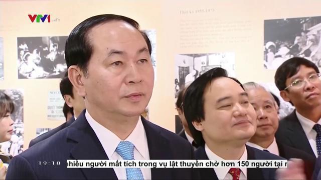 """Chủ tịch nước Trần Đại Quang: """"Đào tạo công dân toàn cầu cho cuộc cách mạng công nghiệp 4.0"""""""