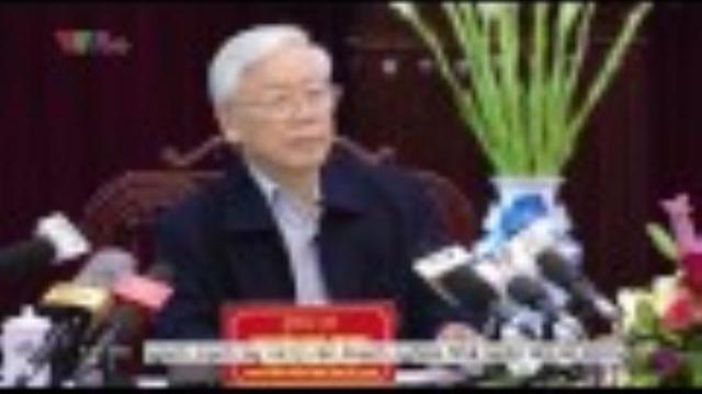 Tổng Bí thư Nguyễn Phú Trọng thăm và làm việc tại Nam Định
