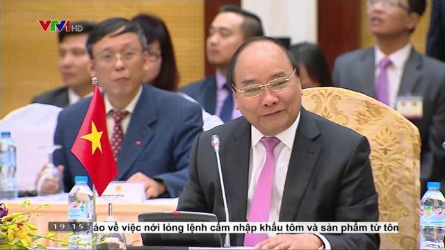 Thủ tướng Nguyễn Xuân Phúc tham dự cuộc họp Ủy ban liên chính phủ về hợp tác Việt Lào