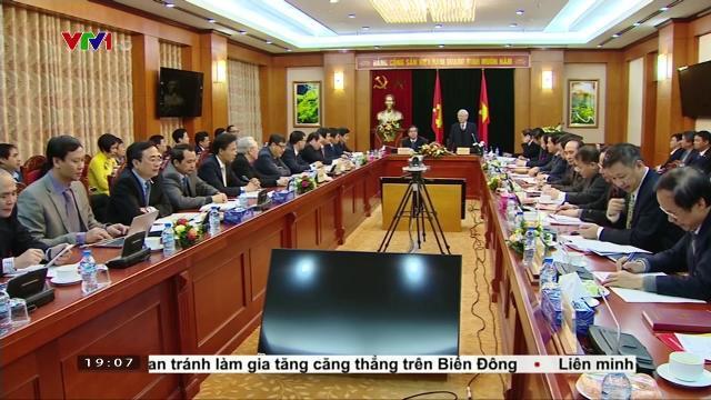 Tổng Bí thư Nguyễn Phú Trọng làm việc với ban kinh tế TW