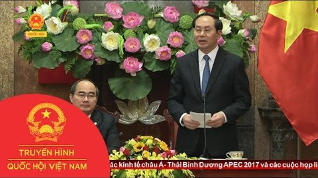Tổng kết công tác phối hợp giữa Chủ tịch nước và Đoàn Chủ tịch UBTW MTTQ Việt Nam năm 2016