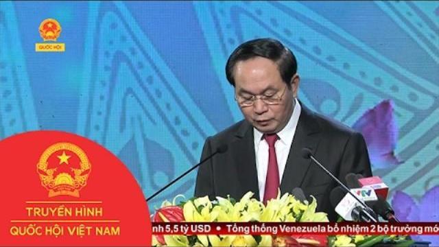 Chủ tịch nước Trần Đại Quang làm việc với Ban thường vụ Tỉnh ủy Thanh Hóa