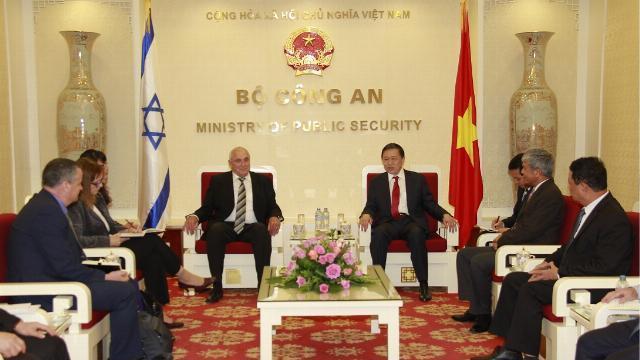 Tăng cường hợp tác công nghệ cao Việt Nam Israel