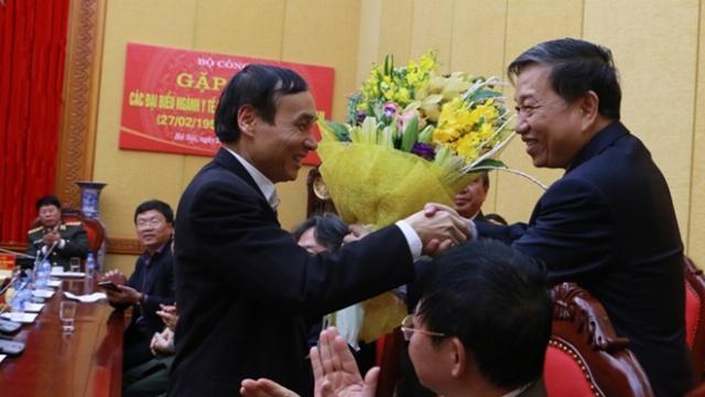 Bộ Công an gặp mặt các đại biểu nhân Ngày thầy thuốc Việt Nam