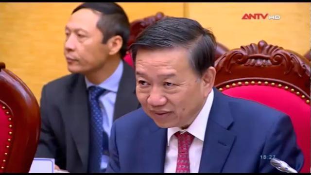 Hội đàm giữa Bộ Công an Việt Nam và Bộ An ninh Lào
