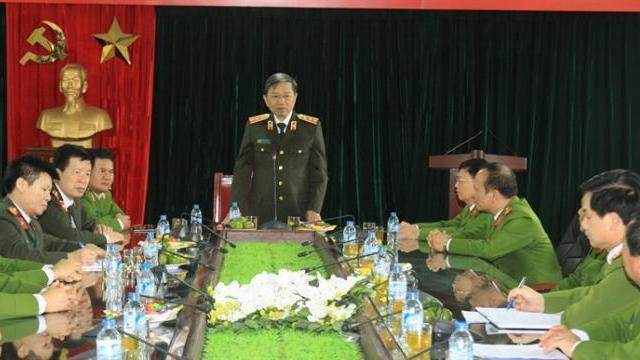 Bộ trưởng Tô Lâm kiểm tra công tác tại Cục Cảnh sát Hình sự