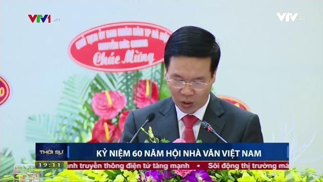 Ông Võ Văn Thưởng dự lễ kỷ niệm 60 năm hội nhà văn Việt Nam