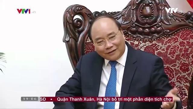 Thủ tướng Nguyễn Xuân Phúc tiếp Chủ tịch tập đoàn xi măng Thái Lan