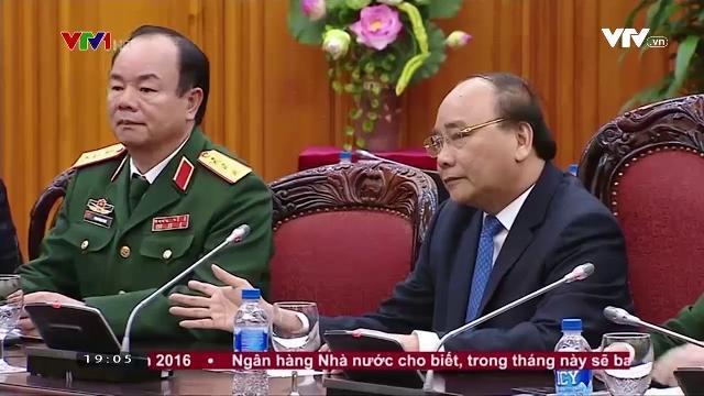 Thủ tướng Nguyễn Xuân Phúc tiếp tư lệnh lực lượng Quốc phòng Thái Lan