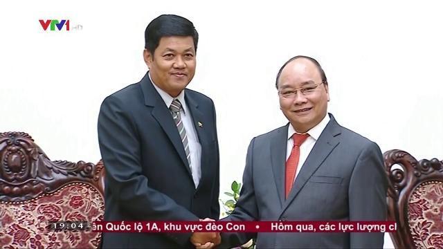 Thủ tướng Nguyễn Xuân Phúc tiếp Đại sứ Myanmar
