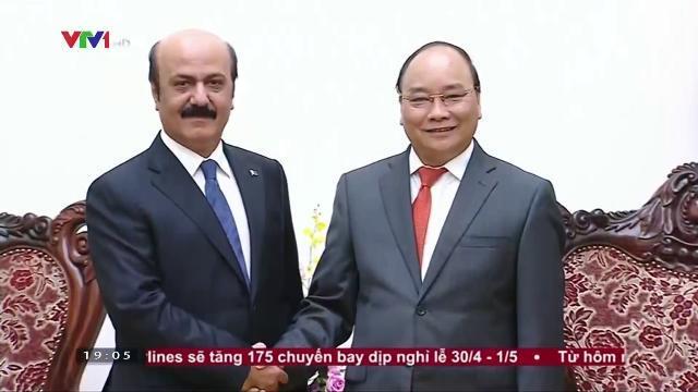 Thủ tướng Nguyễn Xuân Phúc tiếp đại sứ Qatar