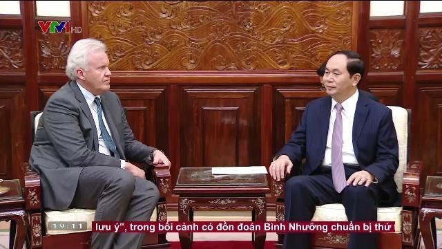 Chủ tịch nước Trần Đại Quang tiếp Chủ tịch tập đoàn GE