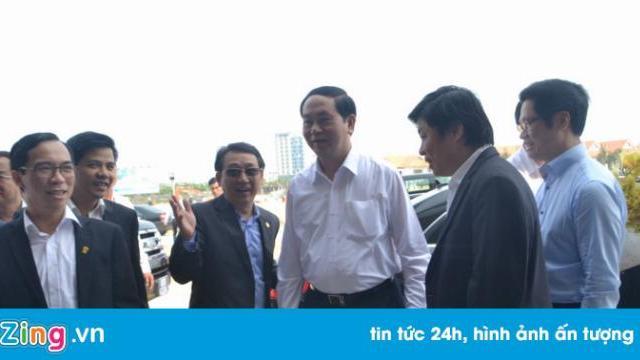 Chủ tịch nước Trần Đại Quang thị sát công tác chuẩn bị APEC
