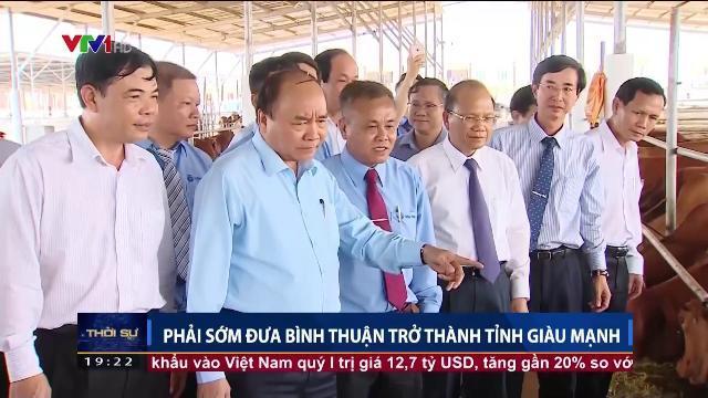 Thủ tướng Nguyễn Xuân Phúc thăm và làm việc tại Bình Thuận