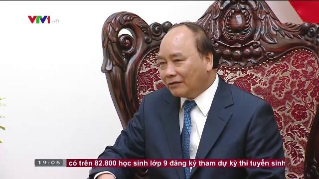Thủ tướng Nguyễn Xuân Phúc tiếp bộ trưởng công chính và vận tải Lào
