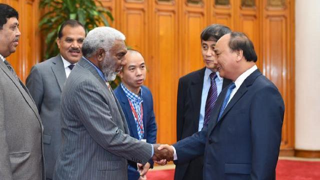 Thủ tướng Nguyễn Xuân Phúc tiếp liên minh hợp tác xã Quốc tế Châu Á Thái Bình Dương
