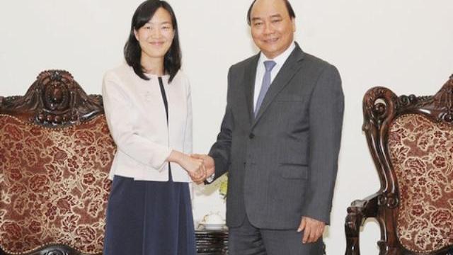 Thủ tướng Nguyễn Xuân Phúc tiếp Tổng giám độc tập đoàn Bảo Thành