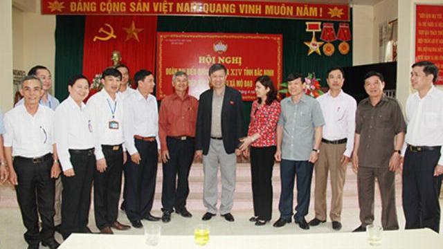 Bộ trưởng Tô Lâm tiếp xúc cử tri xã Mộ Đạo tỉnh Bắc Ninh