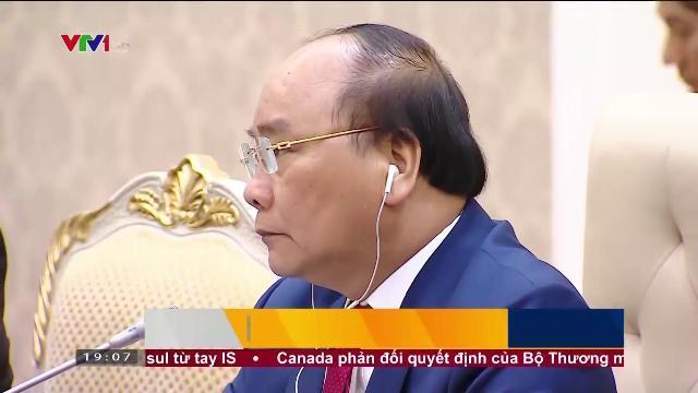Thủ tướng Nguyễn Xuân Phúc thăm chính thức Campuchia