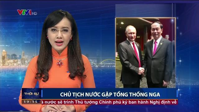 Chủ tịch nước Trần Đại Quang gặp gỡ nhiều lãnh đạo các nước
