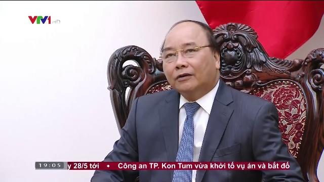 Thủ tướng Nguyễn Xuân Phúc tiếp đại sứ Iran