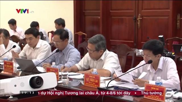Ông Võ Văn Thưởng kiểm tra công tác cán bộ tại Bình Thuận
