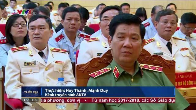 Bộ trưởng Tô Lâm tại lễ kỷ niệm 50 năm lực lượng thanh tra công an nhân dân