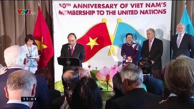 Thủ tướng Nguyễn Xuân Phúc tại lễ kỷ niệm 40 năm Việt Nam gia nhập Liên Hợp Quốc