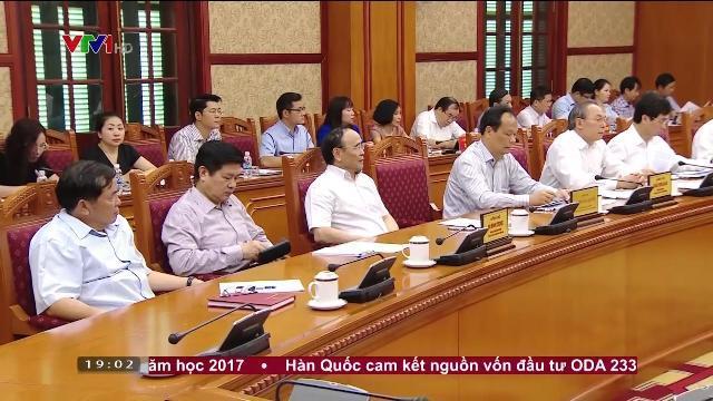 Chủ tịch nước Trần Đại Quang tại phiên họp thứ 3 ban chỉ đạo cải cách tư pháp TW