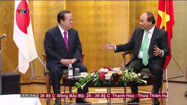 Thủ tướng Nguyễn Xuân Phúc tiếp thống đốc tỉnh Ibaraki, Nhật Bản