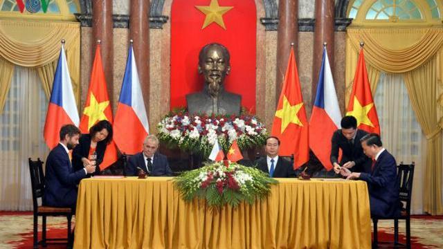Ký kết hợp tác phòng chống tội phạm giữa Việt Nam - Cộng hòa Séc