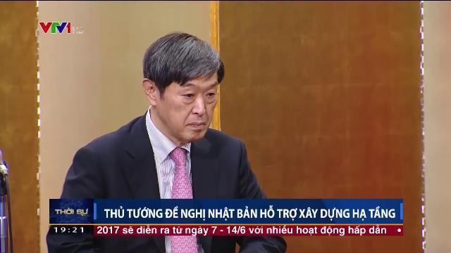 Thủ tướng Nguyễn Xuân Phúc đề nghị Nhật Bản hỗ trợ xây dựng hạ tầng