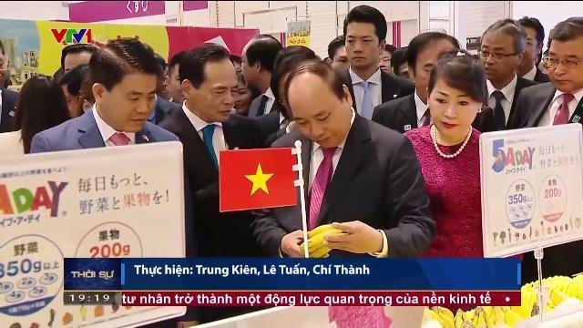 Thủ tướng Nguyễn Xuân Phúc dự tuần lễ hàng Việt Nam tại Nhật Bản